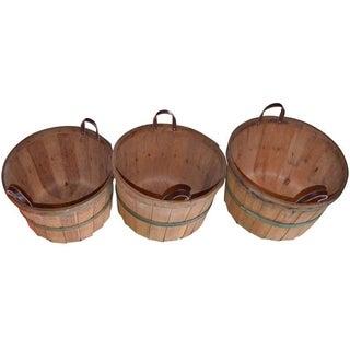 1930' s Apple Orchard Bushel Baskets - 12
