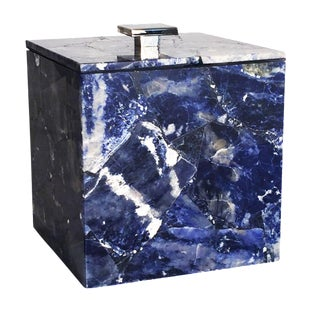 Sodalite Ice Bucket