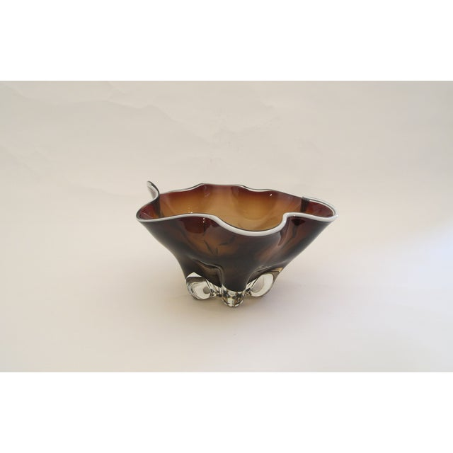 Hand Molded Glass Bowl - Image 5 of 5