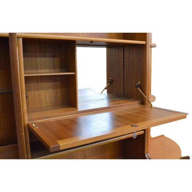 Mid Century Teak Wall Unit By Nathan Furniture - Image 6 of 11