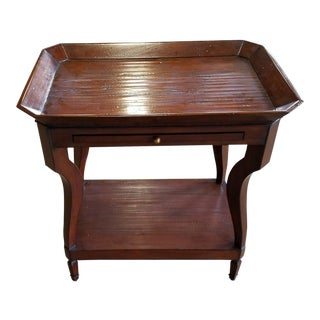 Anthology English Tray Top Chairside