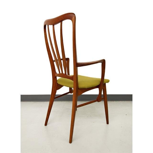 Danish Teak Koefoed Hornslet Dining Chairs -Set 6 - Image 5 of 8