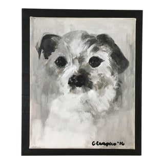 "Christine Carapico ""Fetch"" Jack Russel Terrier Dog Portrait"