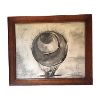 Louise Bourgeois Charcoal Sketch