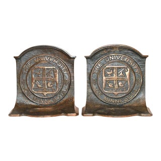"""University of Minnesota"" Bookends - A Pair"