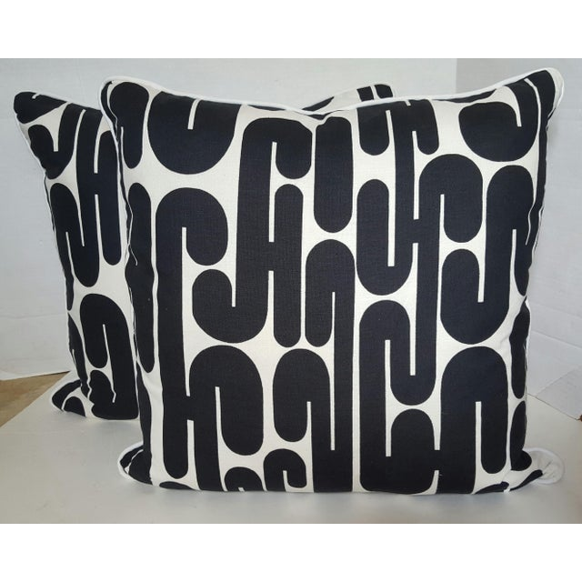 1969 Vintage Alexander Girard Pillows - a Pair - Image 2 of 4