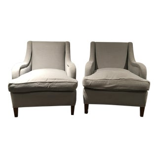 Reupholstered Art Deco Armchairs - A Pair