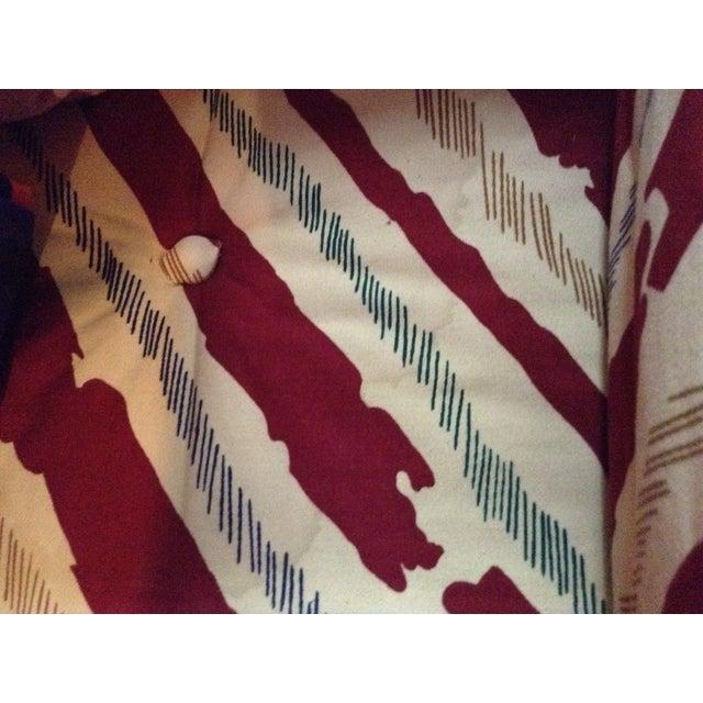 Schumacher Custom Stripe Sofa - Image 6 of 6