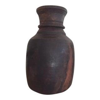 Vintage Wood Jug