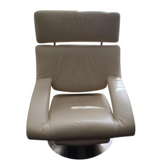 De Sede DS255 Cream Leather Armchair