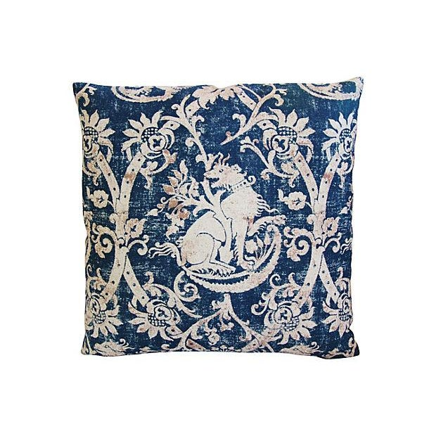 Custom French Mythological Medieval Pillows - Pair - Image 6 of 7