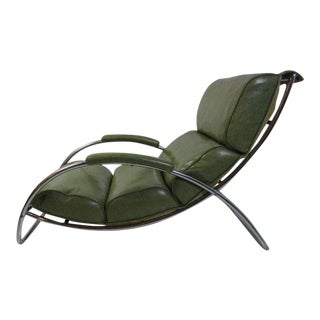 Gilbert Rohde for Troy Sunshade 1934 Lounge Chair