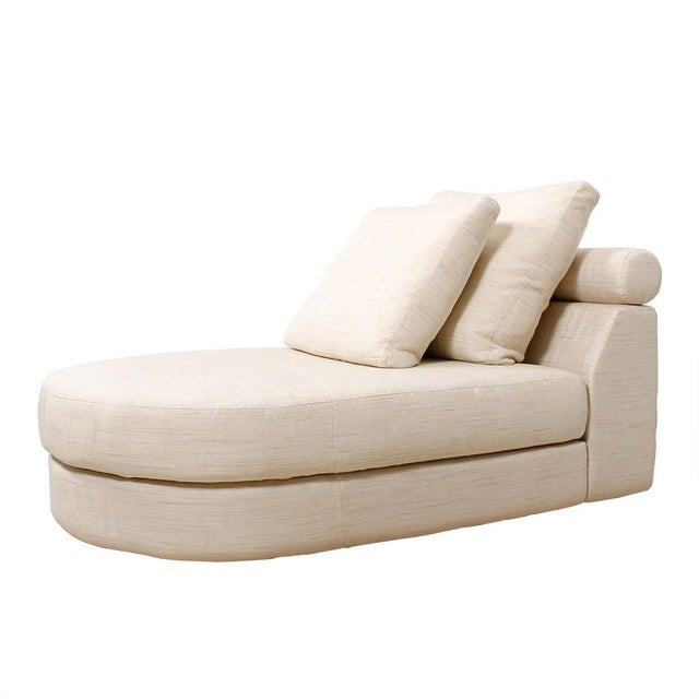 Roche bobois chaise lounge chairish for Chaise roche bobois