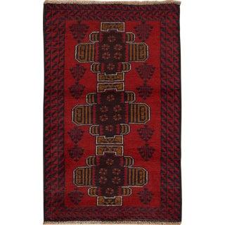 "Apadana - Vintage Persian Balouch Rug, 2'6"" x 4'2"""