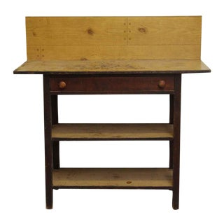 Workbench With Drawer & Shelves