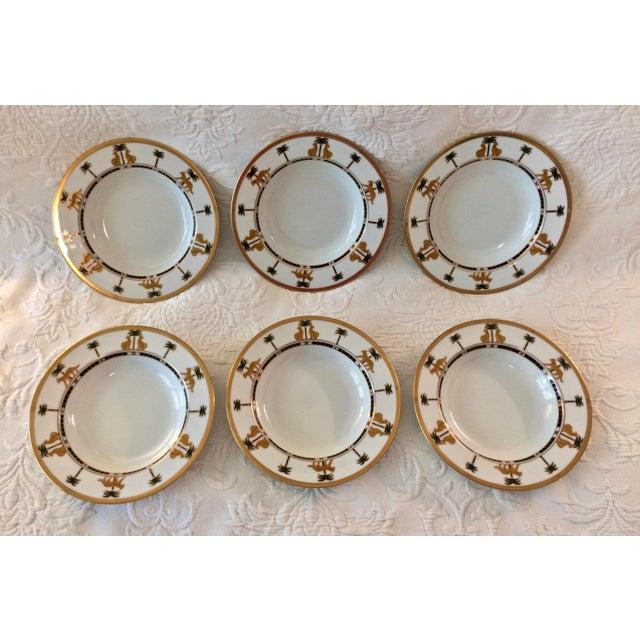 "Christian Dior Hollywood Glamour ""Casablanca"" Fine China Bowls - Set of 6 - Image 9 of 10"