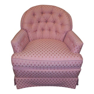 Vintage Pennsylvania House Button-Tufted Accent Chair