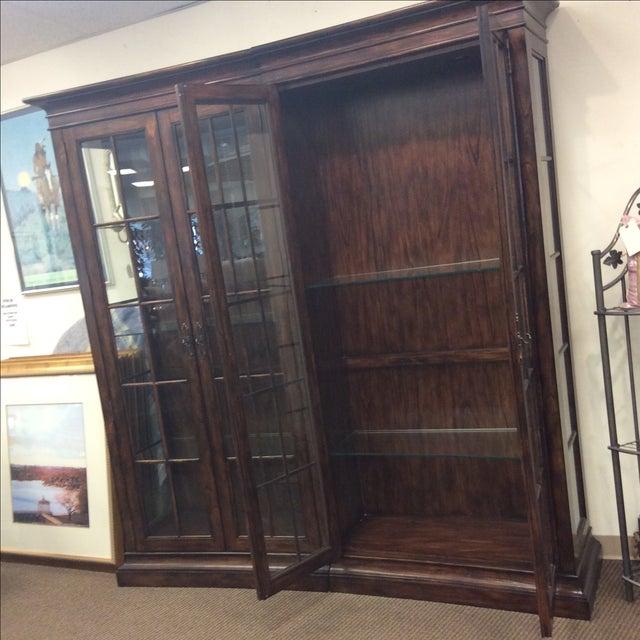 Image of Four Door Glass Curio Cabinet