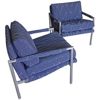 Harvey Probber-Style Loungers - A Pair