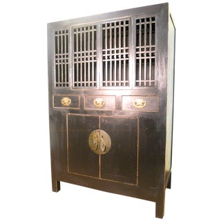 Antique Chinese Ming Kitchen Cabinet