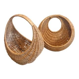 Baskets Plant Hangers - A Pair