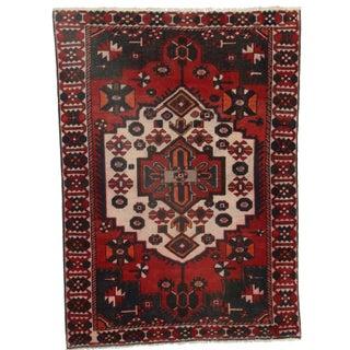 RugsinDallas Persian Bakhtiari Wool Rug - 4′11″ × 6′7″