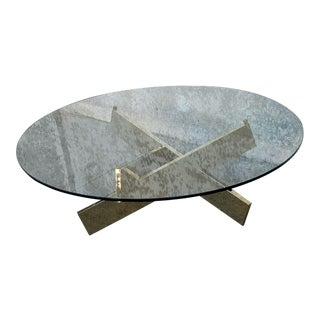 Gold Sculptural Coffee Table