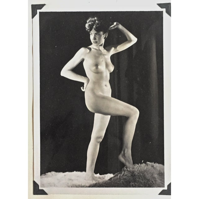 Image of Mid-Century 1950s Nude Female Photograph