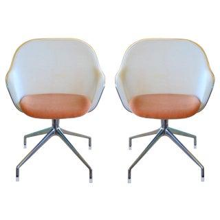 Antonio Citterio For B & B Italia Luta Chairs - A Pair