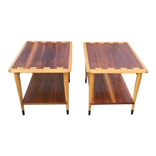 "Lane ""Acclaim"" Mid Century Modern End Tables - a Pair"
