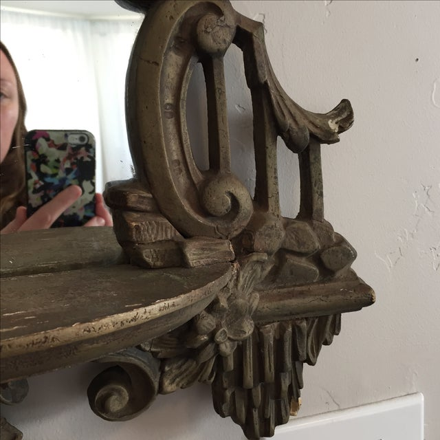 Antique Ornate Victorian Mirror - Image 3 of 6