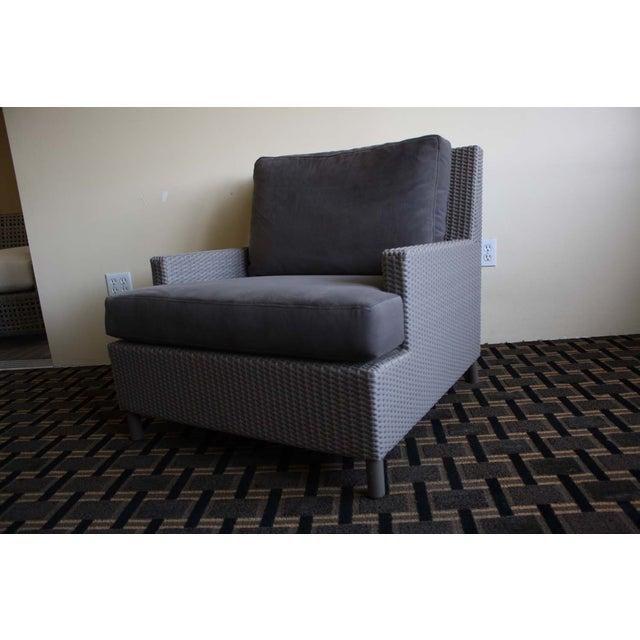 Barbara Barry Plateau Lounge Arm Chair - Image 2 of 5