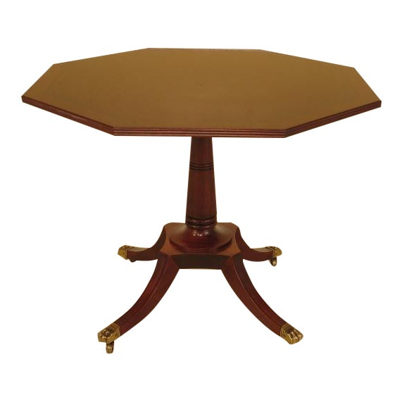 Baker Octagonal Mahogany Center or Breakfast Table - Image 1 of 9