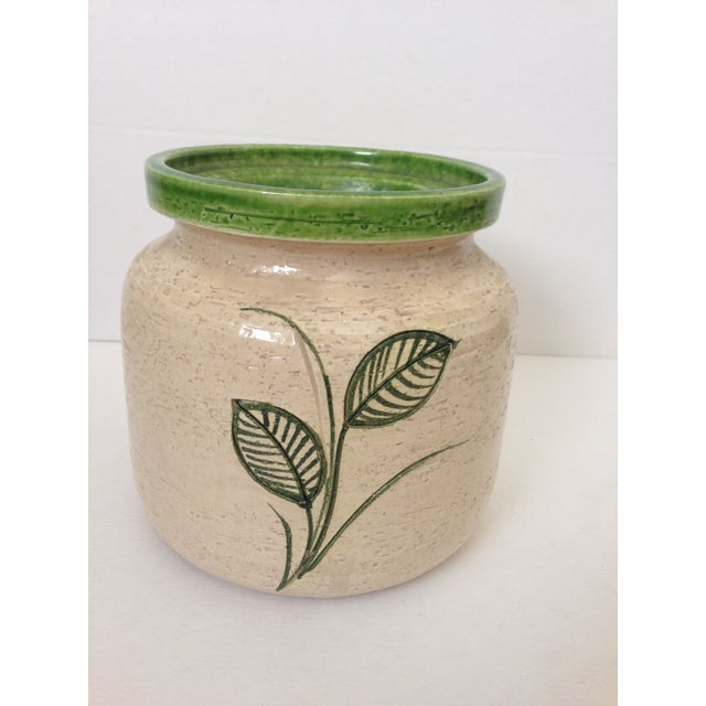 Mid-Century Floral Rosenthal Netter Vase - Image 4 of 6