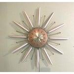 Image of Mid-Century Robert Shaw Electric Starburst Clock