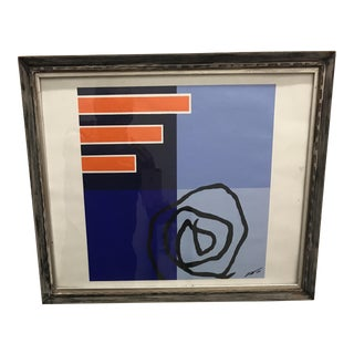 Bold Mid-Century Abstract Painting