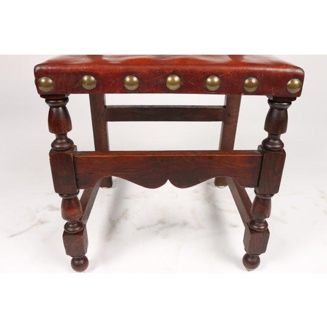 C.1900 Antique Spanish Chairs - A Pair - Image 8 of 9 - C.1900 Antique Spanish Chairs - A Pair Chairish