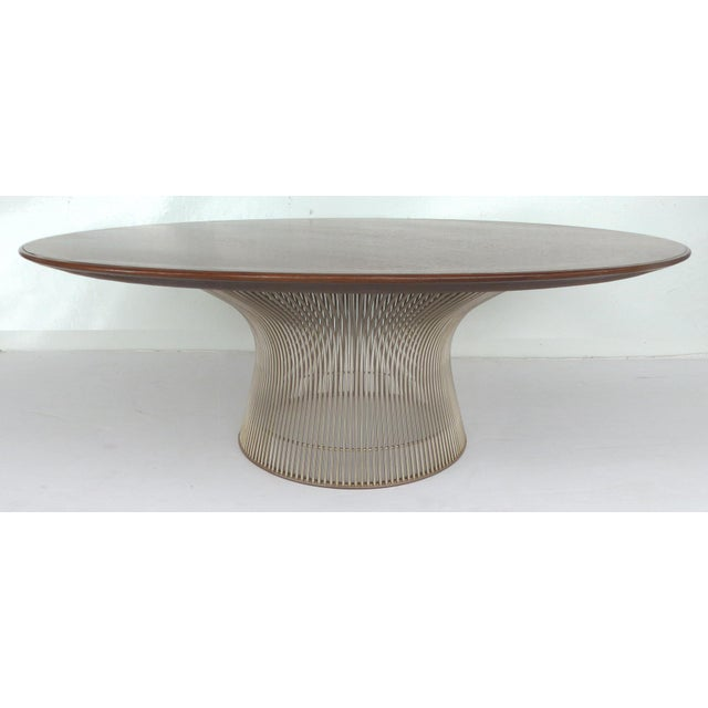 Warren platner for knoll coffee table chairish for Warren platner coffee table