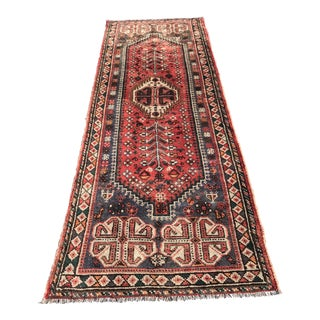 "Vintage Persian Shiraz- 3'3"" x 9'9"""