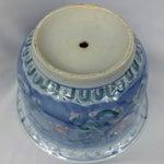 Image of Vintage Chinoiserie Porcelain Garden Planter Pot
