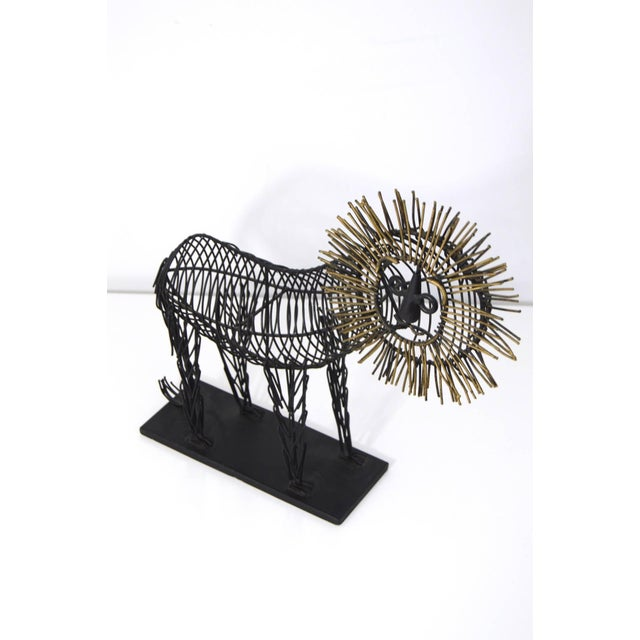 Curtis Jere Style Sculpture of a Lion - Image 5 of 8