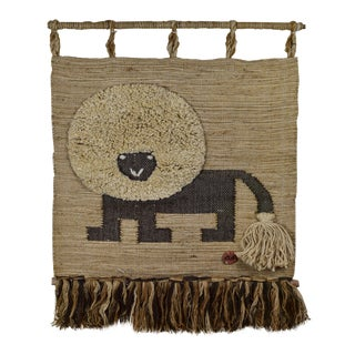 Don Freedman Lion Wall Hanging