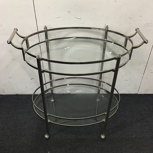 Image of Restoration Hardware Hanover Bar Cart