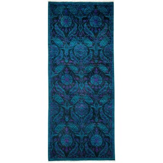 "Vibrance Hand Knotted Runner - 4'1"" X 9'8"""