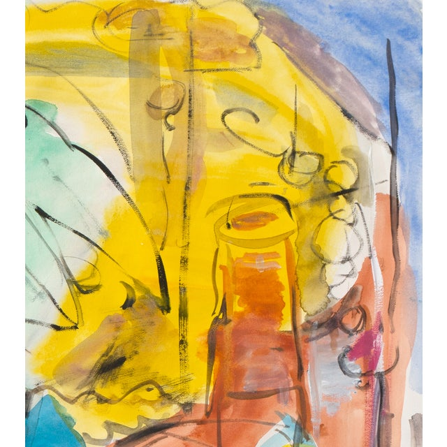 Expressionist Still Life Painting - Image 3 of 6