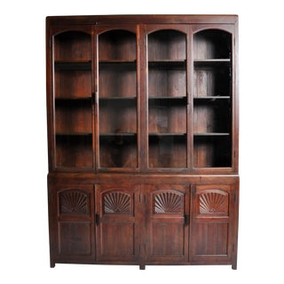 British Colonial Art Deco Bookcase