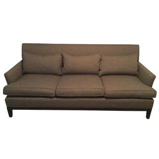 Custom Upholstered Tweed Sofa