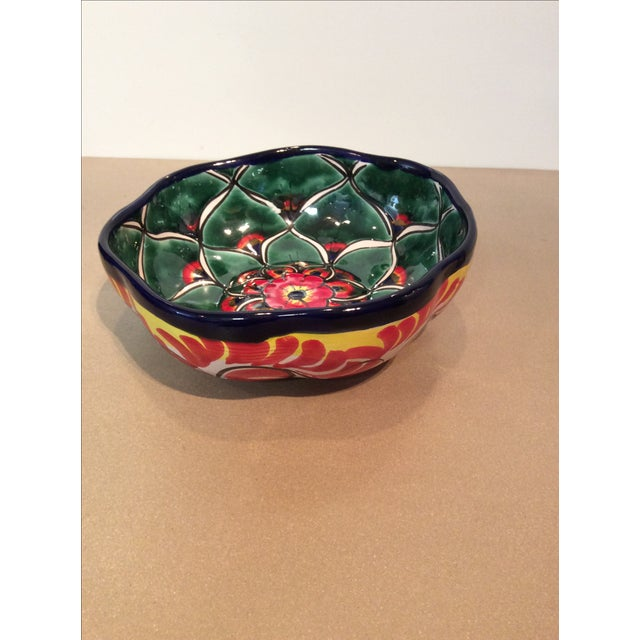 Image of Mexican Hand Painted Bowl