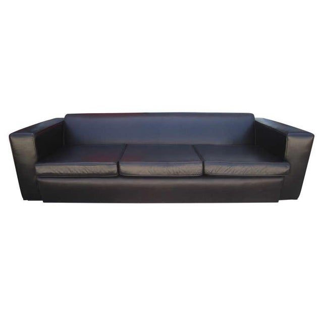 Aerodynamic Sofa in the Style of Paul Frankl - Image 1 of 6