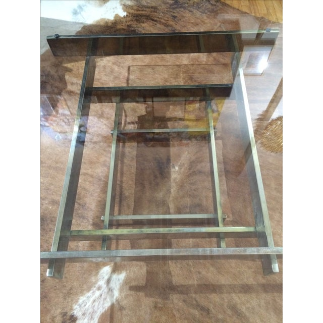 Paul Mayen Brass Stacked Coffee Table - Image 9 of 9